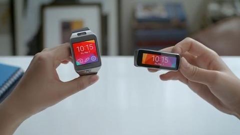 サムスン、「Gear 2」と「Gear Fit」のハンズオン動画を公開