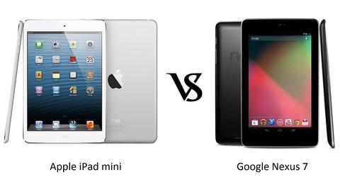 アップルも値上げ?新Nexus7か次期iPad miniかどっちを選ぶ?
