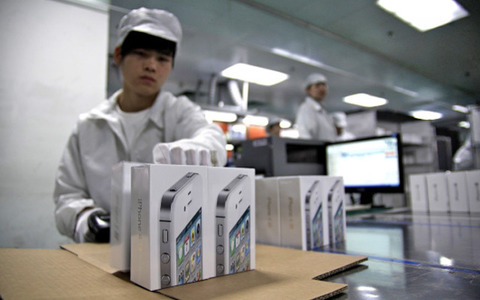 米アップル、「iPhone6」の本格生産を7月開始 ―フォックスコンが従業員10万人を大量採用