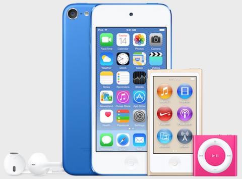 米アップル、「iPodシリーズ」を7月14日に刷新へ -「iPod touch 第6世代 (6G)」は64bitプロセッサ搭載