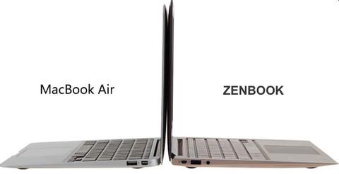 ASUS、AppleのクレームによりZenbook発禁に!!!