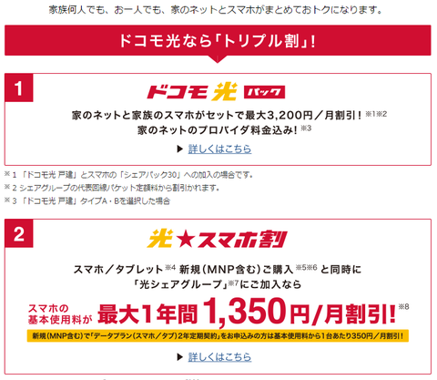 NTTドコモ、家庭の通信環境とセットで最大3200円お得な「ドコモ光パック」を発表