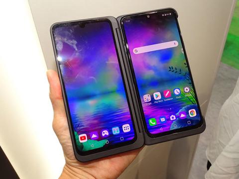LG製2画面スマートフォン「LG G8X ThinQ」 ソフトバンクにて予約受け付け中!