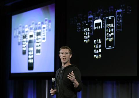 """【携帯】フェイスブックの""""独自スマホ""""の正体は、Android用公式アプリ「Home」でした…サムスンやHTCの最新端末などで利用可能"""