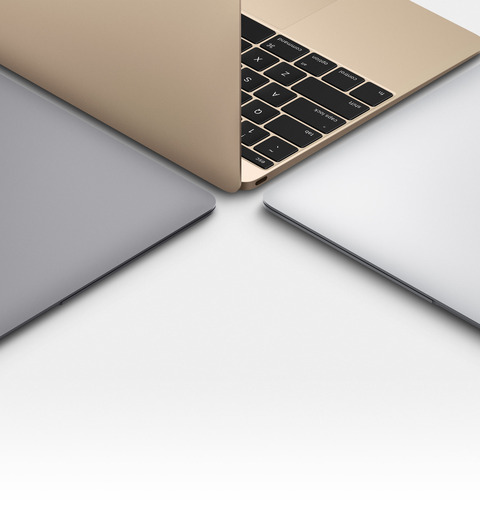 12インチの新型「MacBook」、初期ロットは全て韓国サムスン製パネル -LG製は供給に遅れ