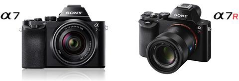 ソニー、世界初35mmフルサイズイメージセンサー搭載のミラーレス一眼カメラ「α7」「α7R」を発表
