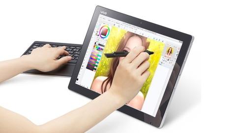 クリエイター向けモンスター級タブレット「VAIO Z Canvas」登場、下位モデルで約25万円