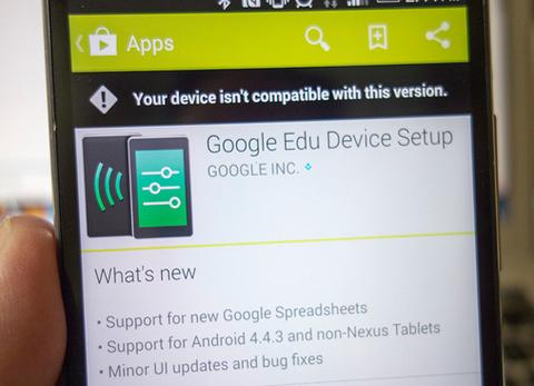 グーグル、新OS「Android 4.4.3」を公式アプリに記載 —まもなく配布へ