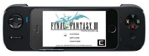 ロジクール、iPhoneと合体するゲームコントローラーを発表、FFシリーズにも対応・auも取扱いへ