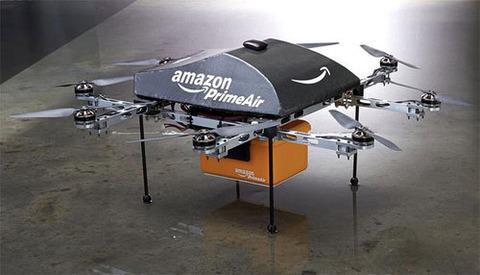 米アマゾン、ドローン「Prime Air」による配送を計画中、2015年にも実現か
