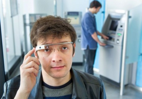 「Google Glass」でATM利用のセキュリティ強化を —新システム「Ubic」開発
