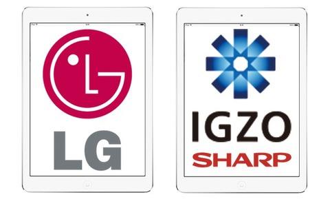 iPadAirにはIGZOパネルが搭載されている?