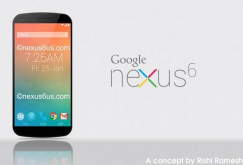 次期「Nexus6 2014」は5.9インチでモトローラの「Shamu」になる可能性