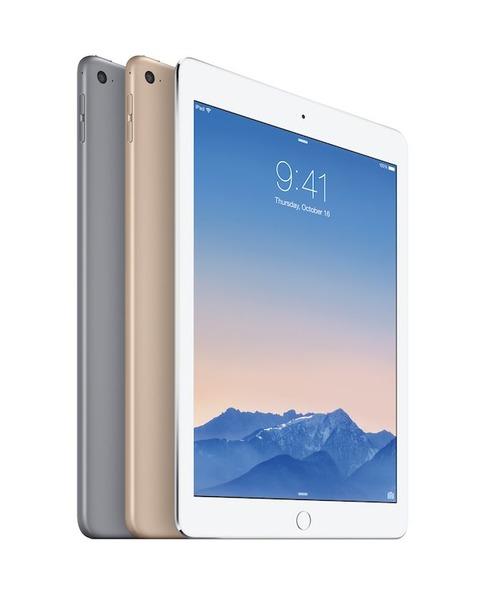 【特徴まとめ】米アップル、世界最薄の新型「iPad Air2」を発表、18日予約受付・24日発売 —Touch ID搭載