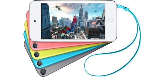 米アップル、新型「iPod touch (第6世代)」を10月に発表か —Touch ID・Apple Pay搭載との情報