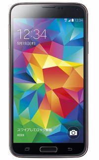 au、世界モデル「Galaxy S5」を発表 —オプションで「Gear 2」「Gear Fit」も