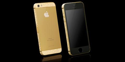 純金&プラチナのiPhone5sが登場、なかなかカッコいい!