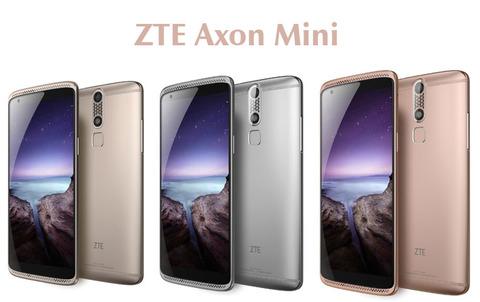 ZTE、格安高級スマホ「AXON mini」を発売 ―有機EL・8コアCPU・3つの生体認証搭載