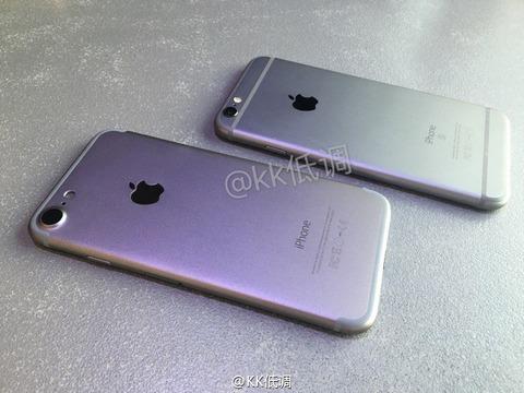 「iPhone7」のモックアップが登場、カメラサイズや背面デザインに変化