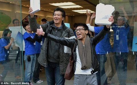 iPadAirが絶好調!発売3日間で前機種比5倍増の売れ行き