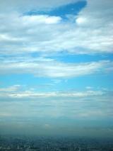 青空見えてきた