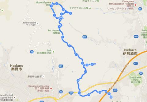 トレイル地図