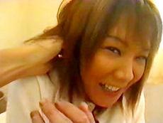 【無修正】唐沢祥子 アナルとマ●コ同時責め!三十路色黒ドM女