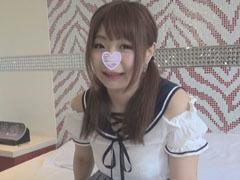 【無】【個人撮影】ゆうこちゃん 22歳 むっちりJDのパイパンマ○コにガッツリ中出し!