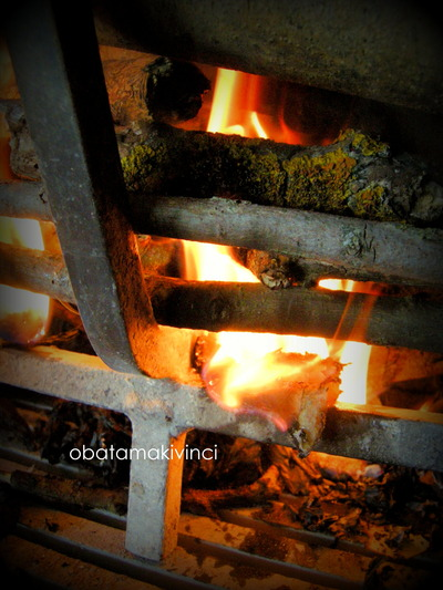 Accensione con cotone di filtro per olio di oliva