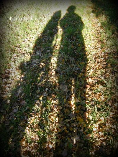Passeggiata tra le foglie