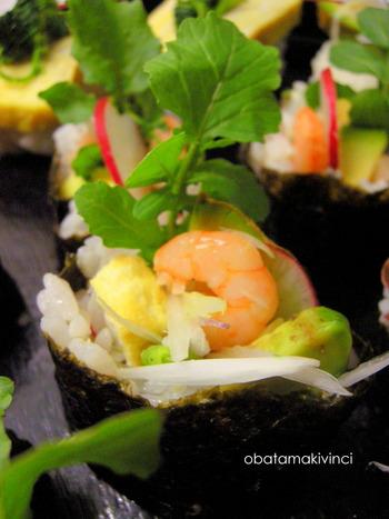 Sushi 3D Rucola