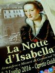Depliant La Notte d'Isabella