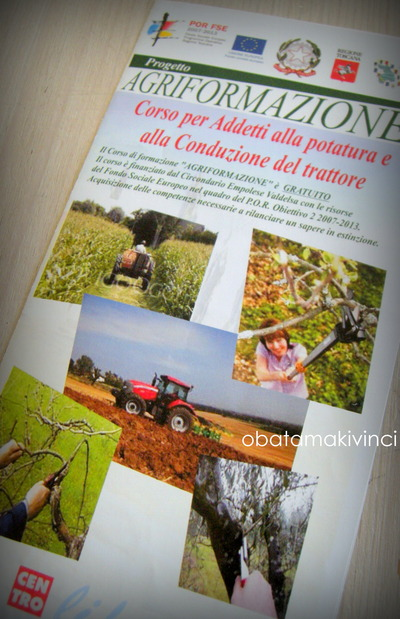 Depliant  -Corso di Agriformazione