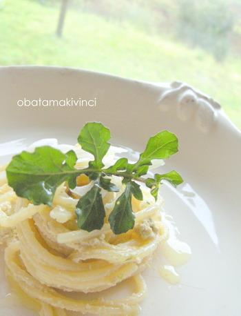 Spaghetti con il Pesto al Tofu modo Vegano