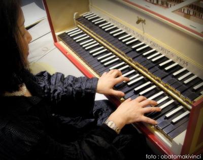 Cembalista Eiko Yamaguchi