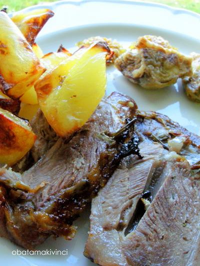 Carne di Agnello con Patate
