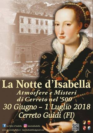La notte di Isabella 2018
