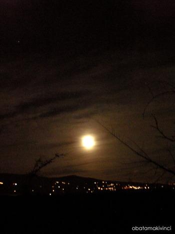 Luna Piena verso Vinci