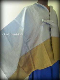 羽織ポンチョ