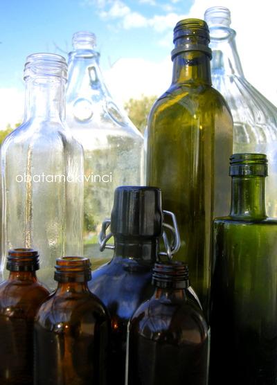 bottiglie lavati con Vetriola