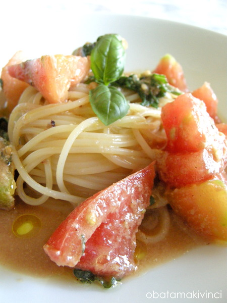 Vermicelli con la salsa Italo-Giapponese