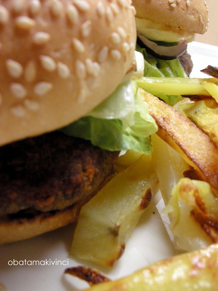 Hamburger fatto da casa