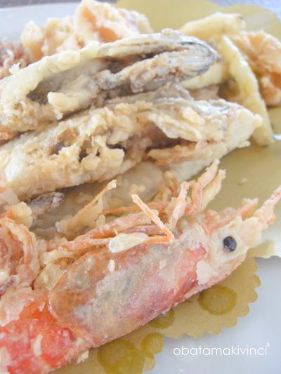 Pesce Fritto al Ristorante di Cecina