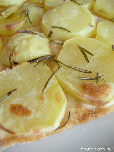 Pizza Bianca Patate con Rosmarino