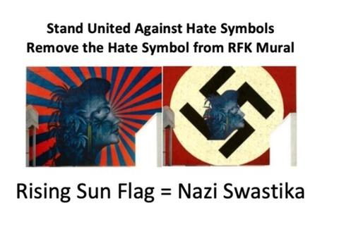 【韓国の反応】米LA韓人タウンの学生「旭日旗の壁画を消してくれ」オンライン請願を開始