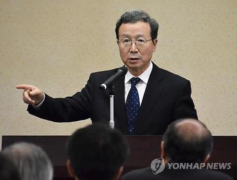 【韓国の反応】安倍首相、離任する駐日中国大使と70分の昼食会…「挨拶だけだった韓国大使とは対照的」と韓国マスコミ