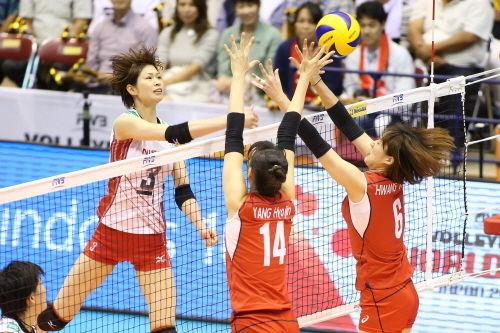 【韓国の反応】日本が韓国にストレート勝ち!女子バレーボール、1敗で5カ国が並ぶ混戦
