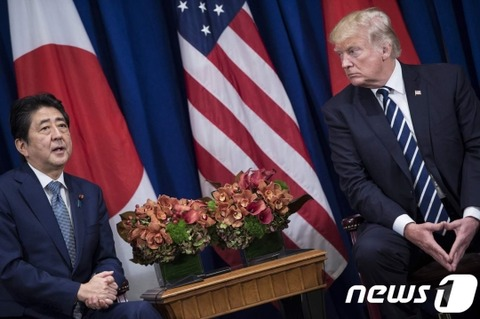 【韓国の反応】日米韓首脳会談で火だるまのムンジェイン…トランプ&安倍「時期を考えろ!」とムンジェインを叱責…その後、日米二国だけで首脳会談
