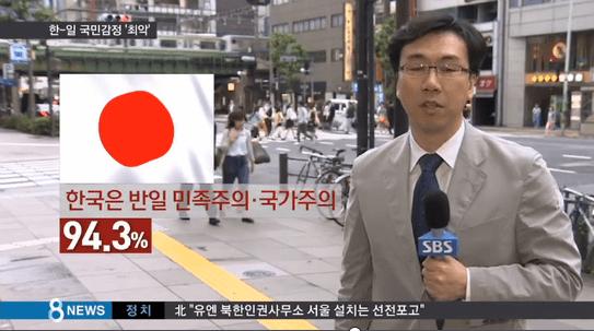 韓国人「日本人が韓国を嫌うのは許せない!理不尽だ!」日本の対韓感情「最悪」で韓国激怒