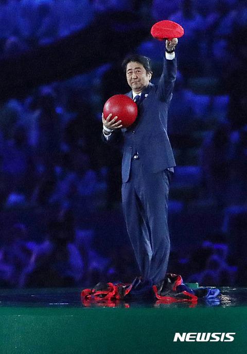 【韓国の反応】安倍マリオの影響?安倍内閣の支持率62%に 「東京オリンピックも安倍首相で」59%